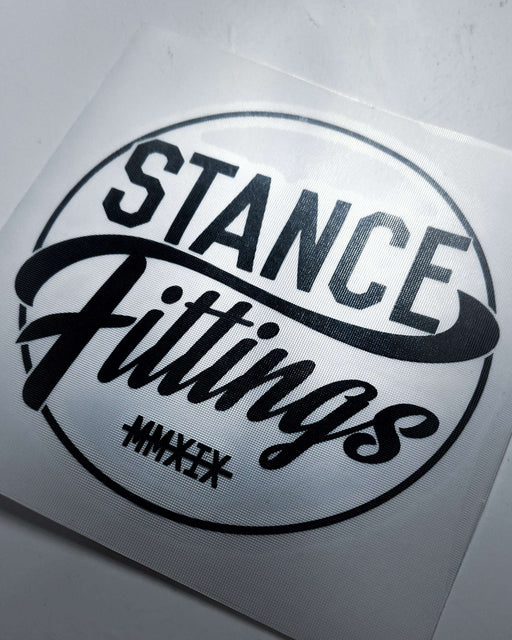 Stance Fittings Circle Decal-Stickers-Stance Fittings-Stance Fittings | The Southern Stance Specialist