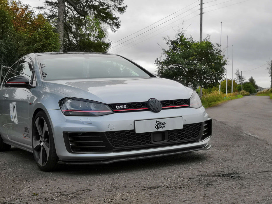 Front bumper cover set GT (FOG SURROUNDS), VW Golf VII-Wide Wings-SRS-TEC-Stance Fittings | The Southern Stance Specialist