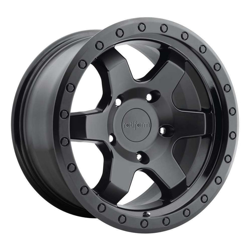"Rotiform SIX-OR - Matte Black 20""-Wheels-Rotiform-Stance Fittings 