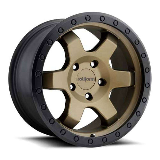"Rotiform SIX-OR - Bronze 20""-Wheels-Rotiform-Stance Fittings 
