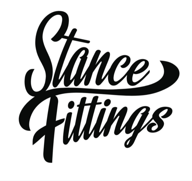 Stance Fittings Classic Vinyl Decal-Stickers-Stance Fittings-Stance Fittings | The Southern Stance Specialist