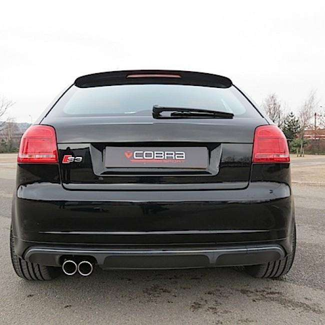 Audi S3 8P model / 3 Door Performance Cat Back Exhaust (Resonated)-Exhausts-Cobra Exhaust Systems-Stance Fittings | The Southern Stance Specialist