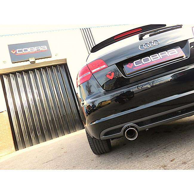 Audi A3 (8P) TDI 5 Door Performance Exhaust Cat-Back-Exhausts-Cobra Exhaust Systems-Stance Fittings | The Southern Stance Specialist