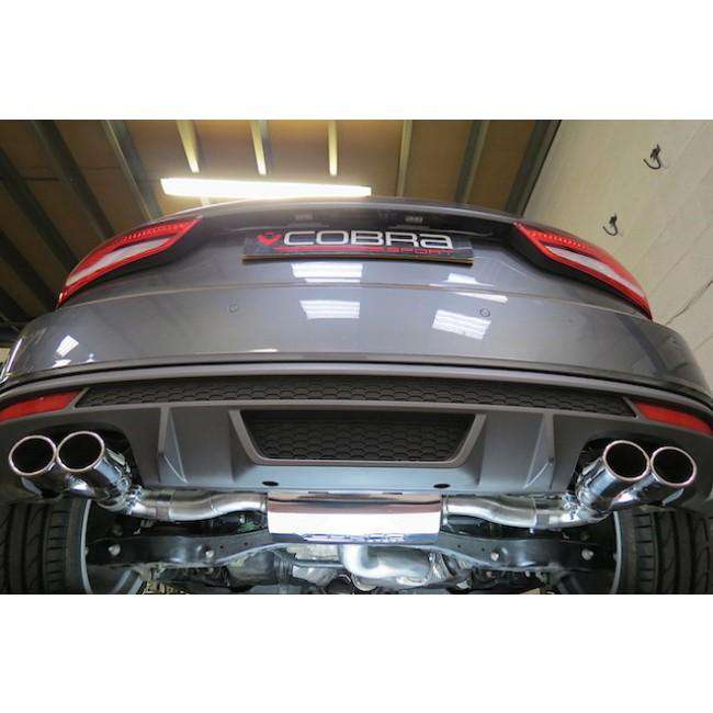 Audi S1 Performance Exhaust Cat-Back (Resonated)-Exhausts-Cobra Exhaust Systems-Stance Fittings | The Southern Stance Specialist