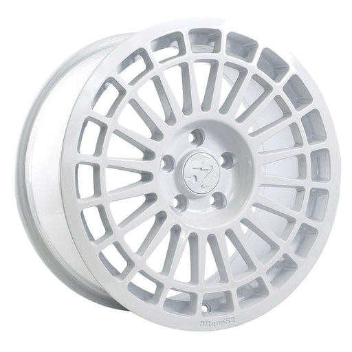 "Deltona (18"" x 8.5J) Rally White-Wheels-Fifteen52-Stance Fittings 