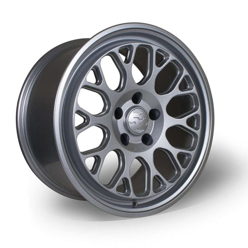 "Formula GT (18"" x 8.5J) Speed Silver-Wheels-Fifteen52-Stance Fittings 