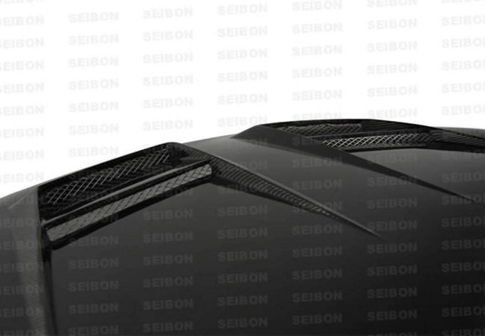 DV-STYLE CARBON FIBRE BONNET FOR 2010-2014 VOLKSWAGEN GOLF / GTI / R (SHAVED)-Carbon Parts-Seibon Carbon-Stance Fittings | The Southern Stance Specialist