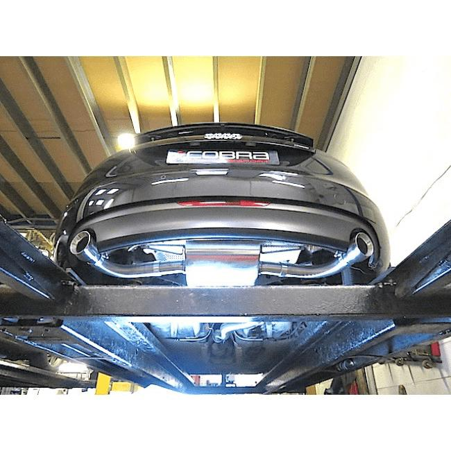 Audi TT (MK2) 3.2 V6 Quattro (Coupe) 2007-11 Cat Back Exhaust (Resonated)-Exhausts-Cobra Exhaust Systems-Stance Fittings | The Southern Stance Specialist