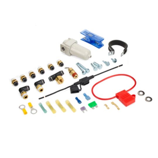 3H KIT WITH 1/4″ THREADED FNPT PORTS (3/8″ AIRLINE, NO TANK, NO COMPRESSOR)