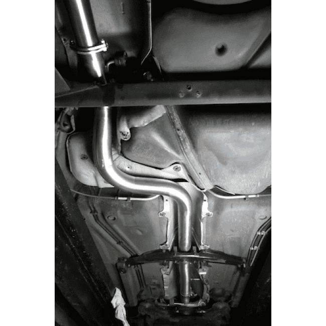 VW Golf MK4 GTI (1J) 1.8 Turbo 1998-2004 Cat Back Exhaust (Non-Resonated)-Exhausts-Cobra Exhaust Systems-Stance Fittings | The Southern Stance Specialist