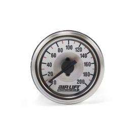 Air Lift 26228 - Dual Needle Pressure Gauge - 200PSI-Pressure Gauges-Air Lift Performance-Stance Fittings | The Southern Stance Specialist
