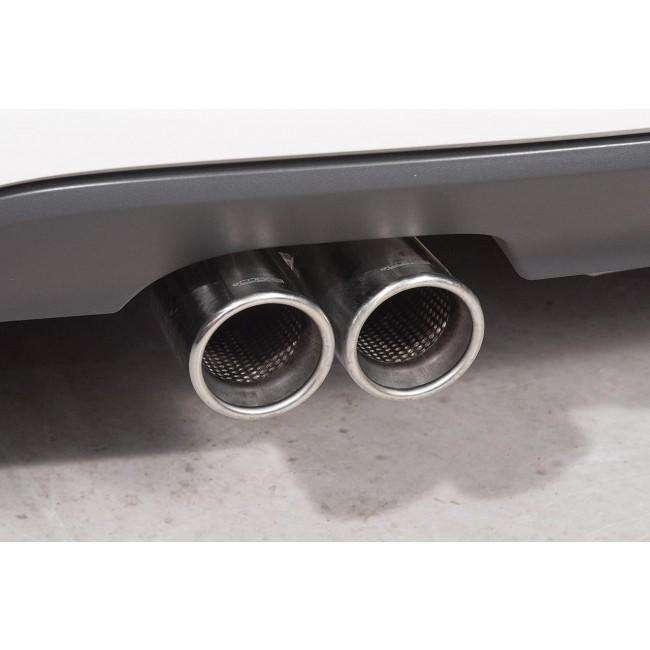 VW Golf MK6 GTD (5K) 2.0 TDI 170PS 2009-13 Cat Back Exhaust-Exhausts-Cobra Exhaust Systems-Stance Fittings | The Southern Stance Specialist