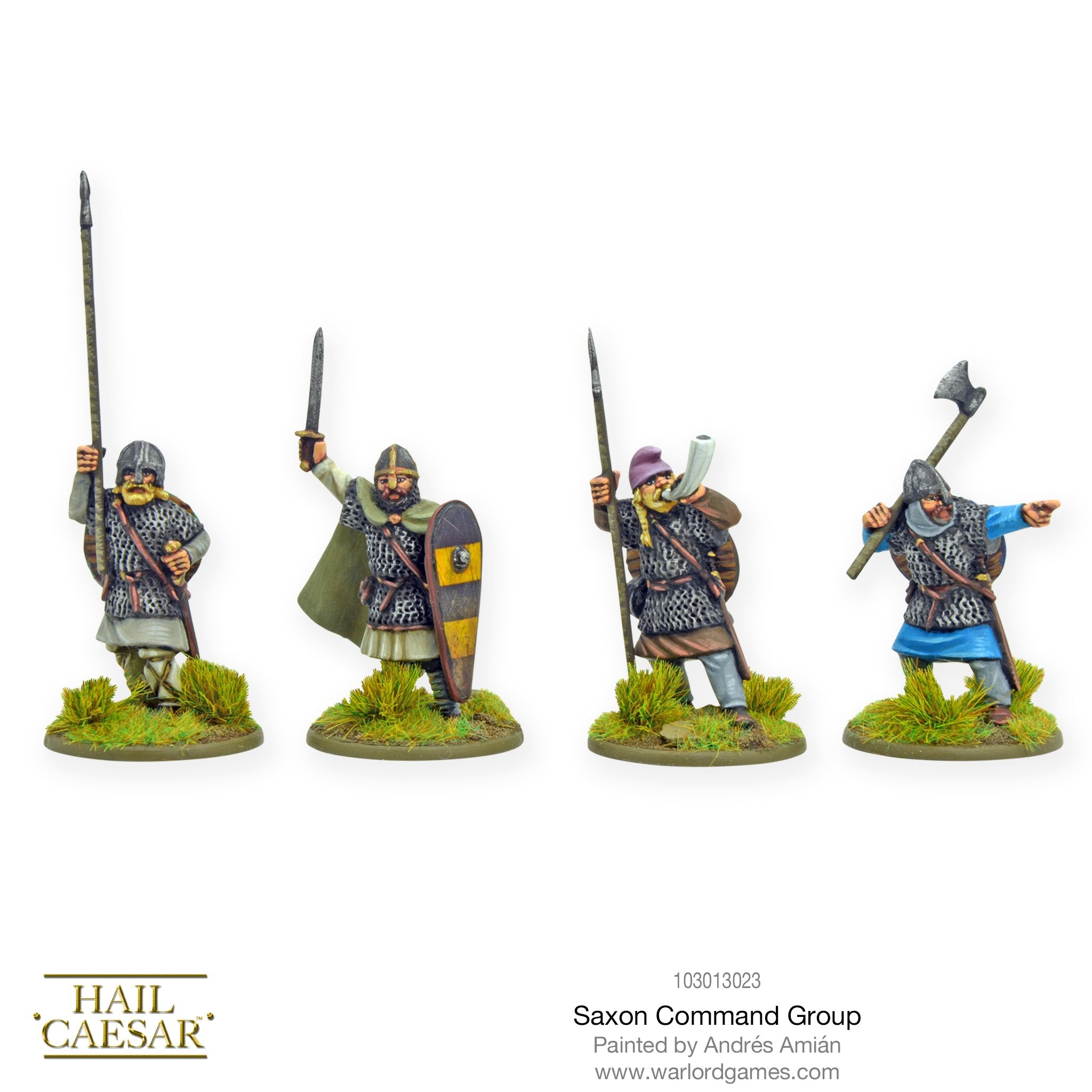 Saxon command group