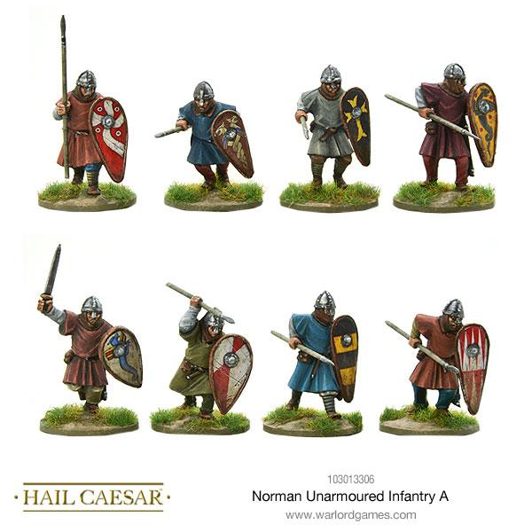 Norman Unarmoured Infantry A