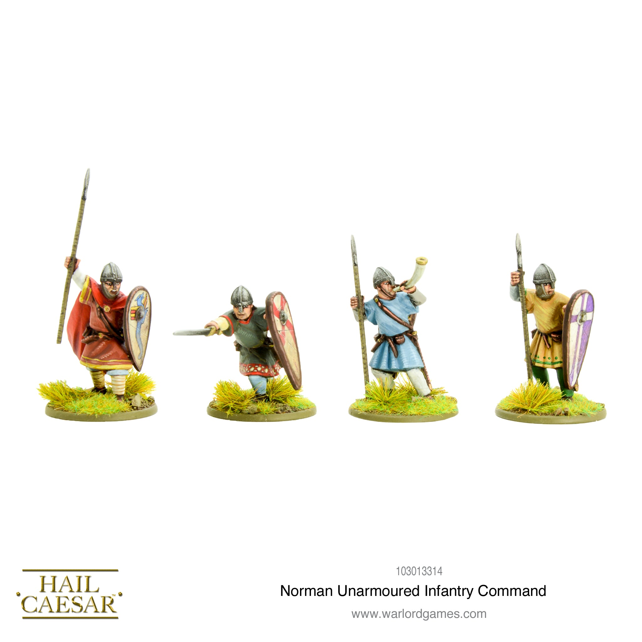 Norman Unarmoured Infantry Command