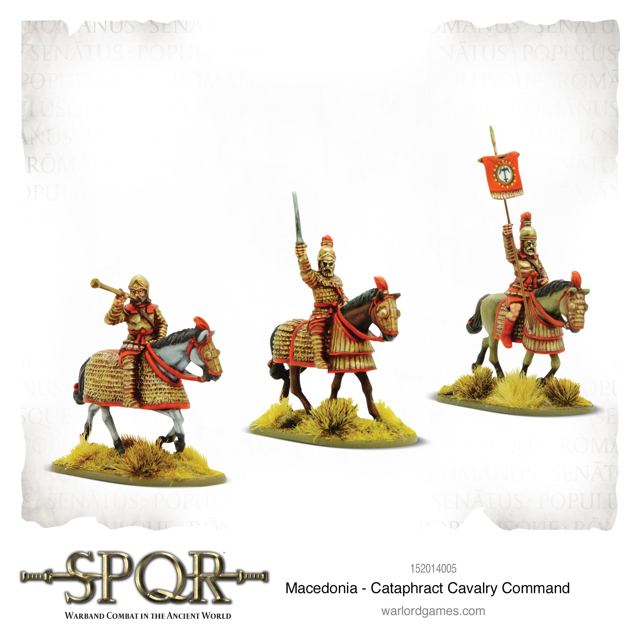 SPQR: Macedonia - Macedonian Cataphract command