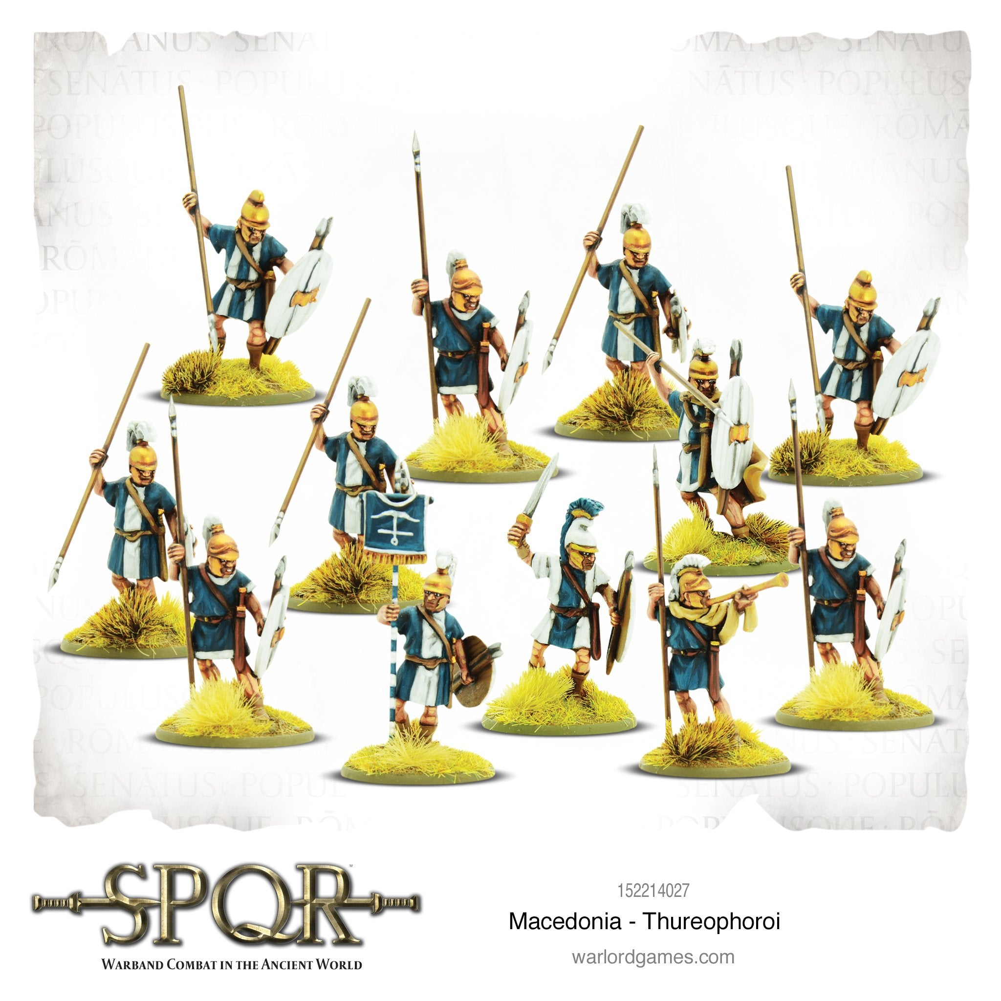 SPQR: Macedonia - Thureophoroi
