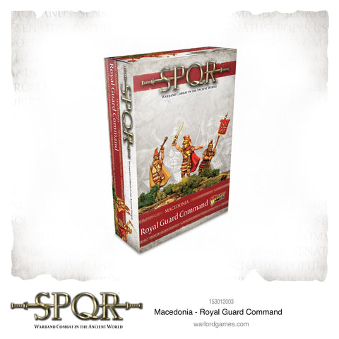 SPQR: Macedonia - Royal Guard command