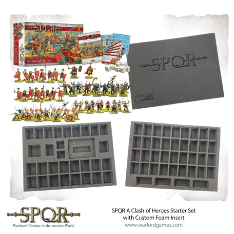 SPQR Starter Set With Custom Foam Insert