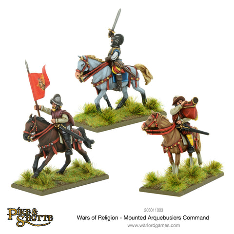 Wars of Religion Mounted Arquebusiers command