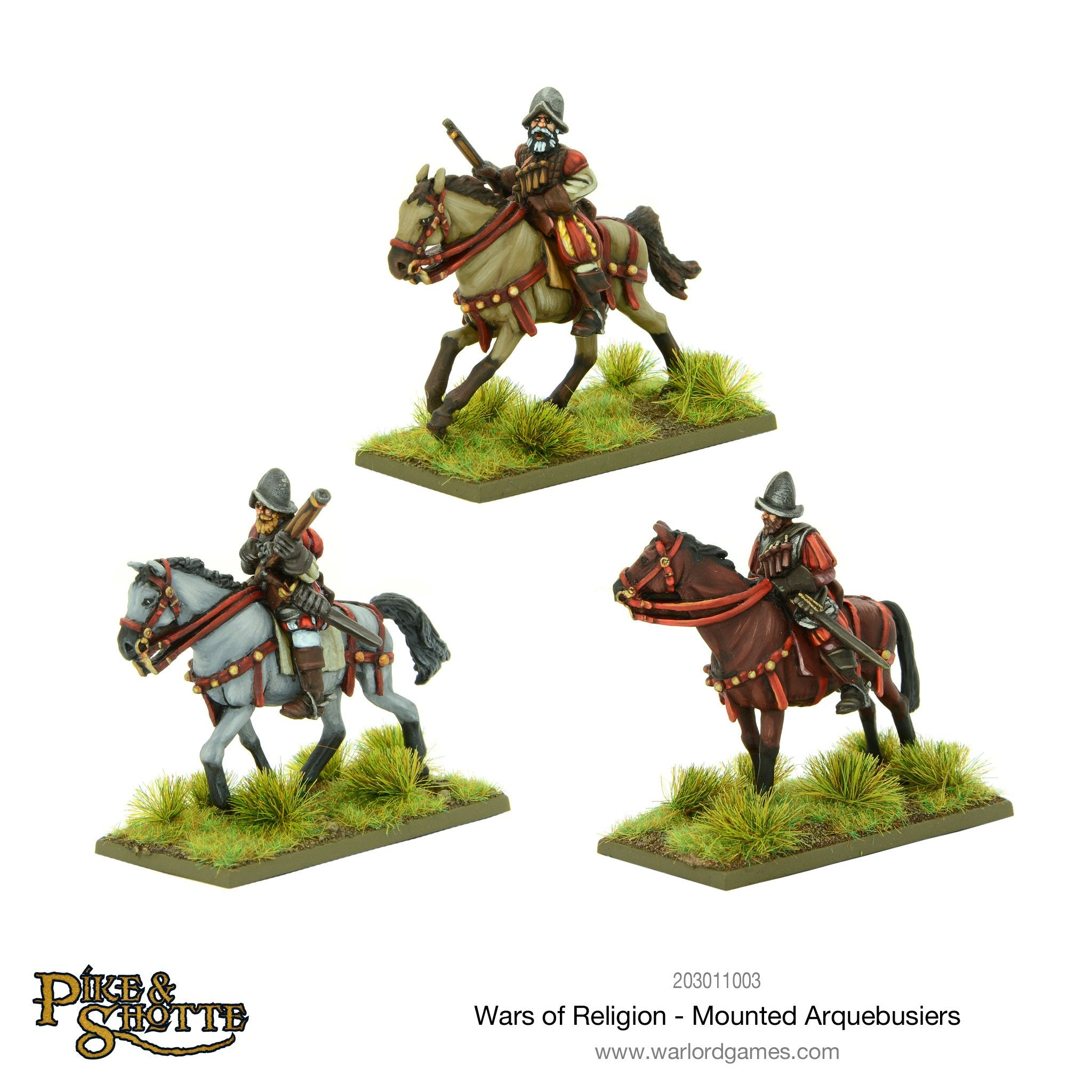Wars of Religion Mounted Arquebusiers