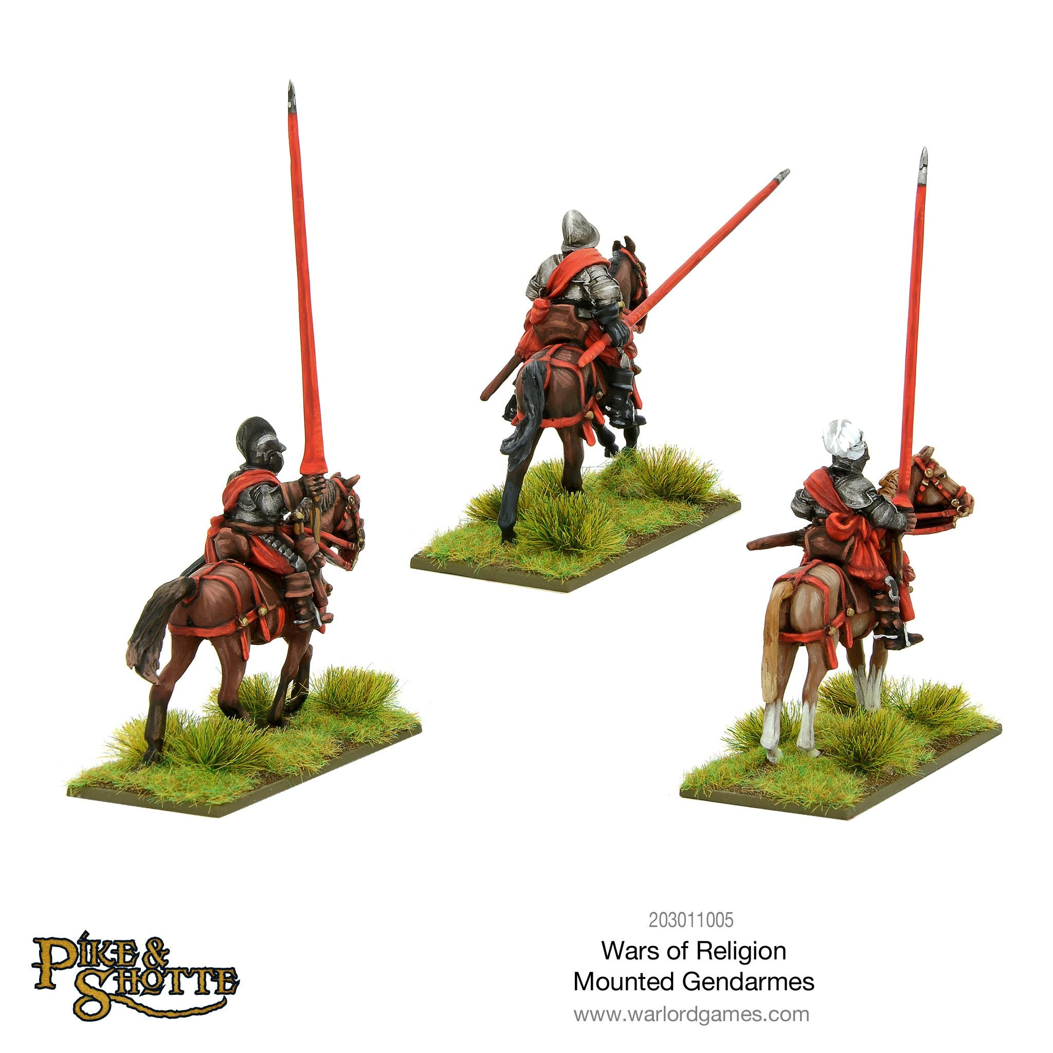 Wars of Religion Mounted Gendarmes