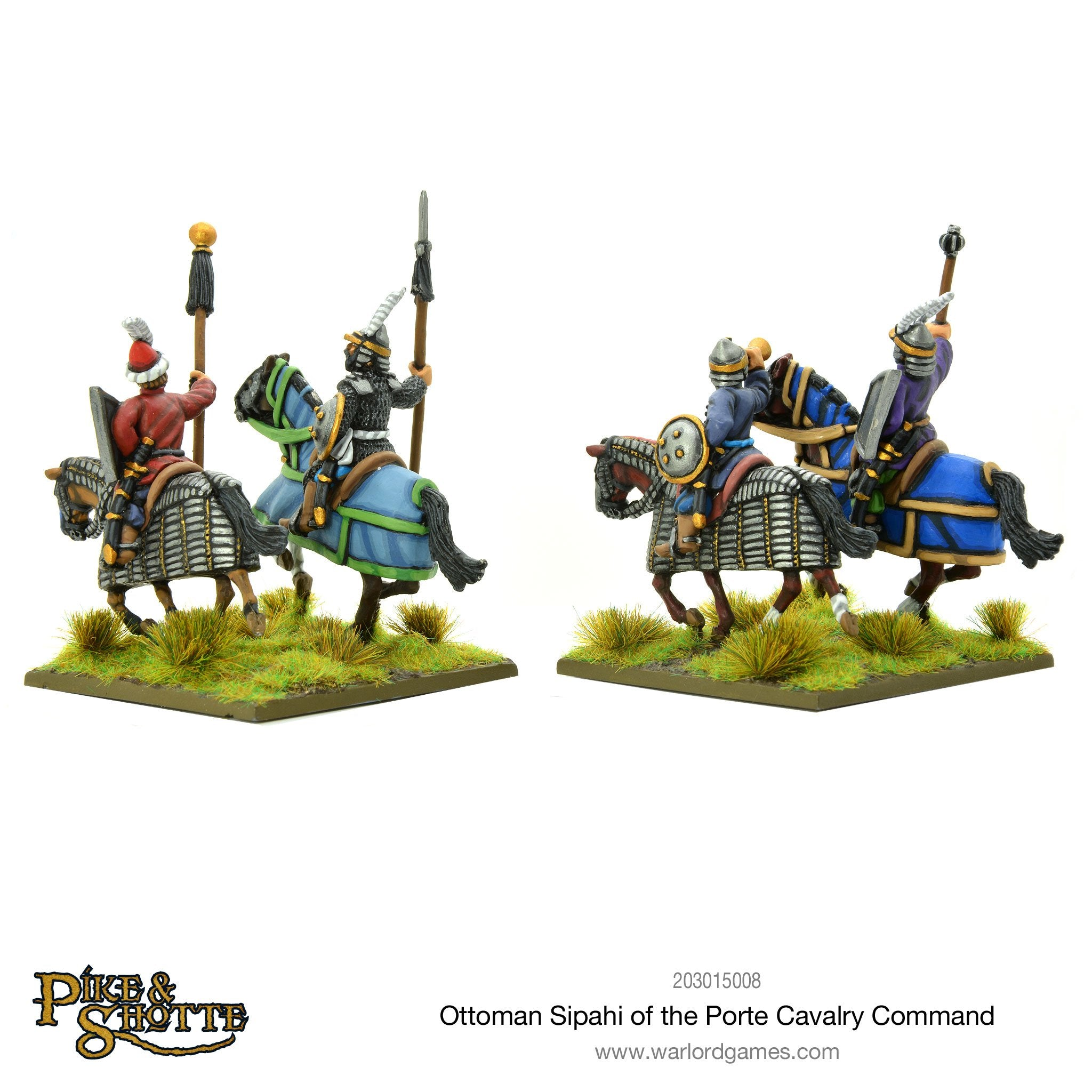 Ottoman Sipahi of the Porte cavalry command