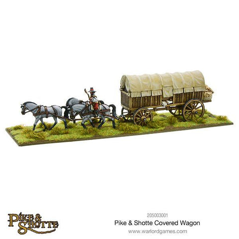 Pike & Shotte Covered Wagon