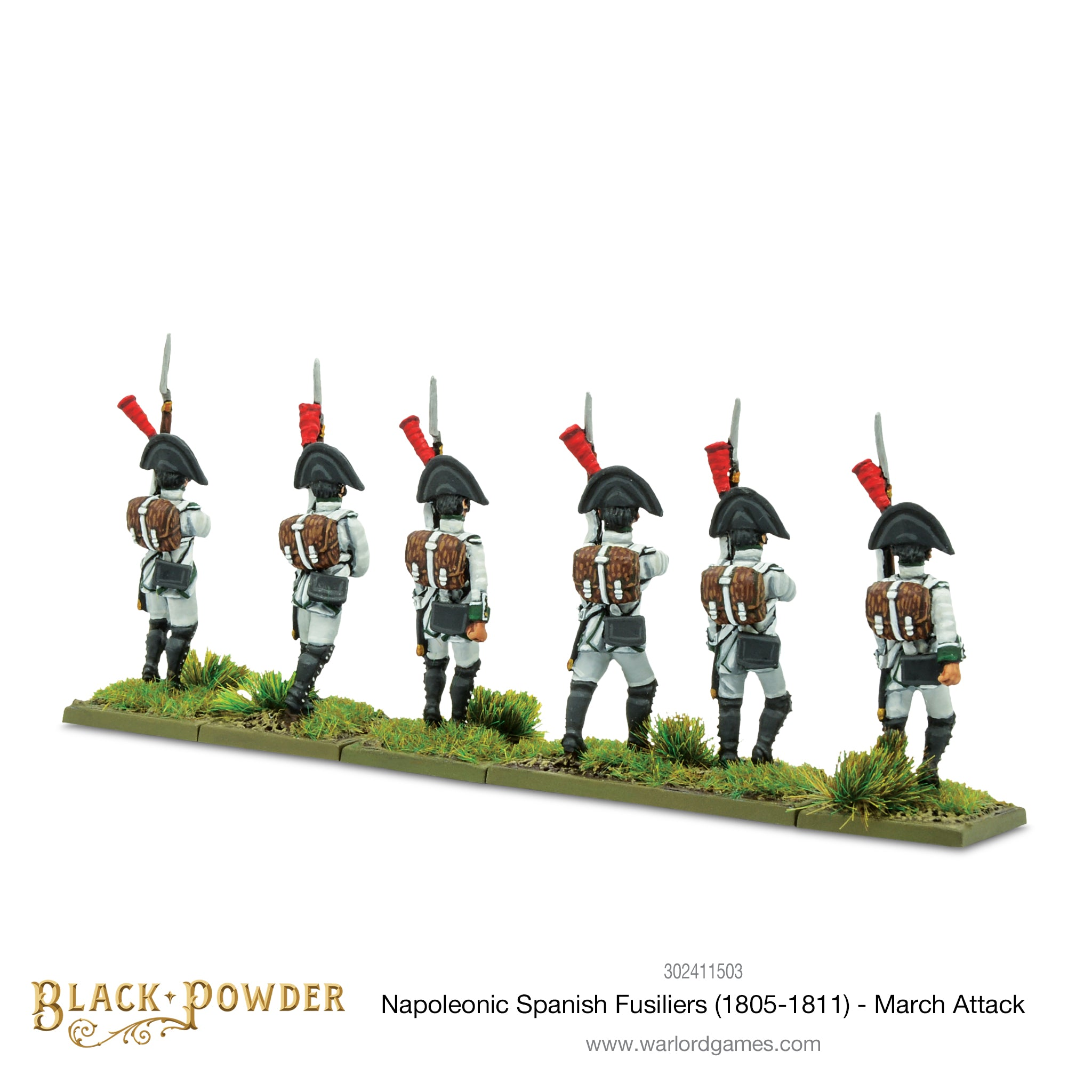 Napoleonic Spanish Fusiliers (1805-1811) - March Attack