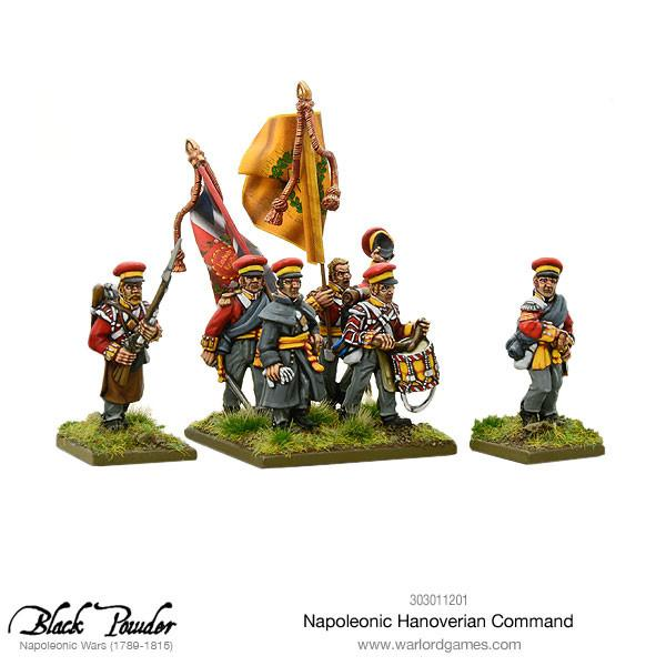 Hanoverian command pack