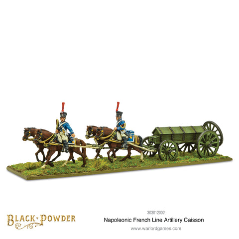 Napoleonic French Line Artillery Caisson