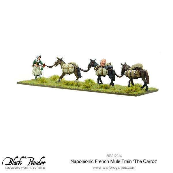 Napoleonic French Mule Train 'The Carrot'