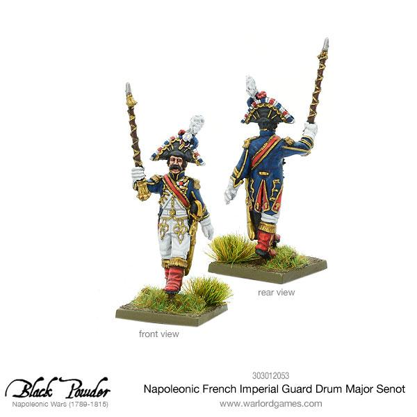 Napoleonic French Imperial Guard Drum Major Senot