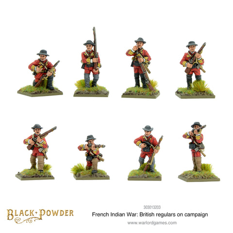 British Regulars on Campaign