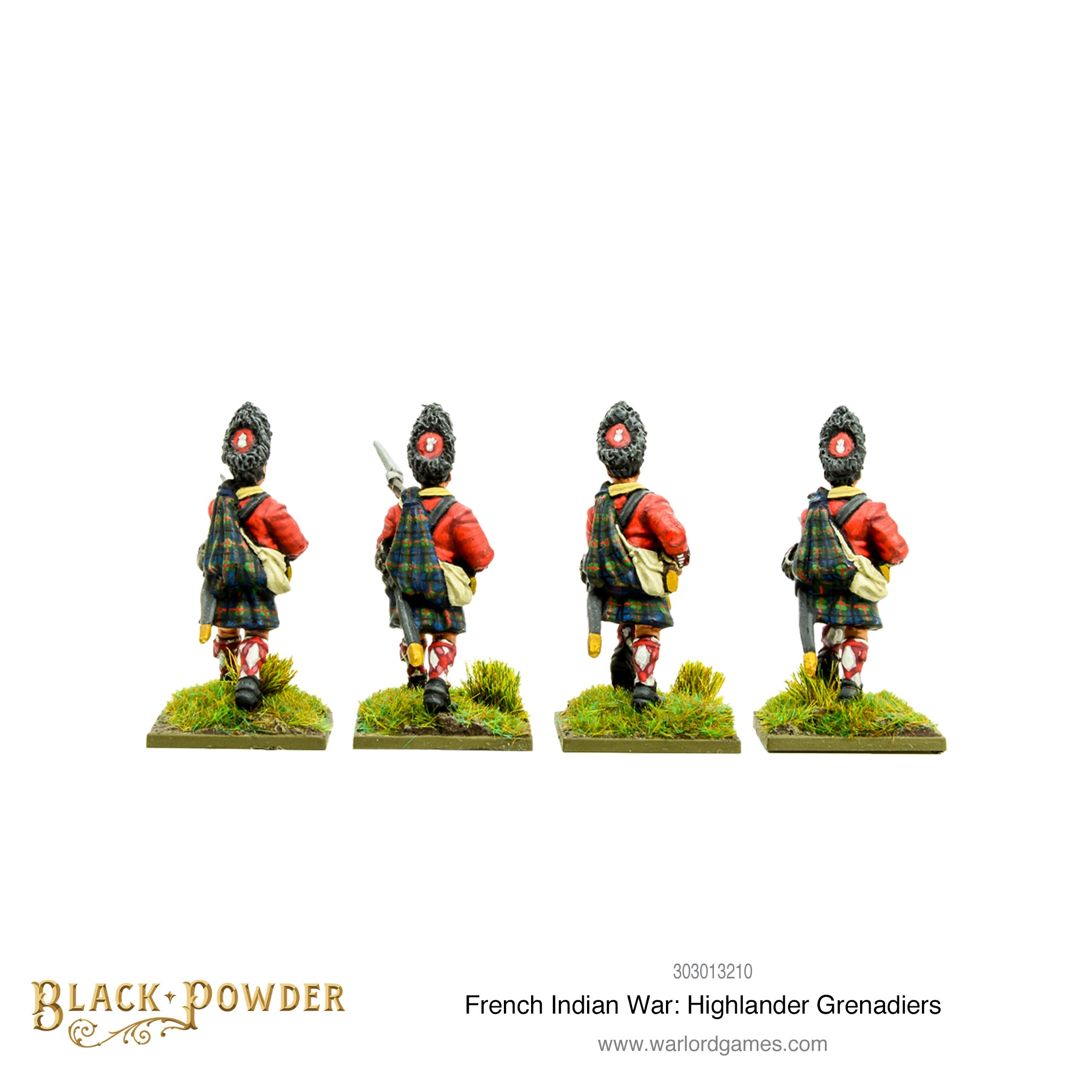 French Indian War: Highlander Grenadiers