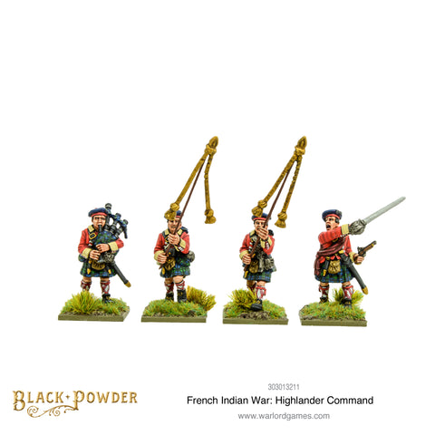 French Indian War: Highlander command