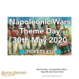 Black Powder - The Napoleonic Wars - Event Ticket - May 30th 2020
