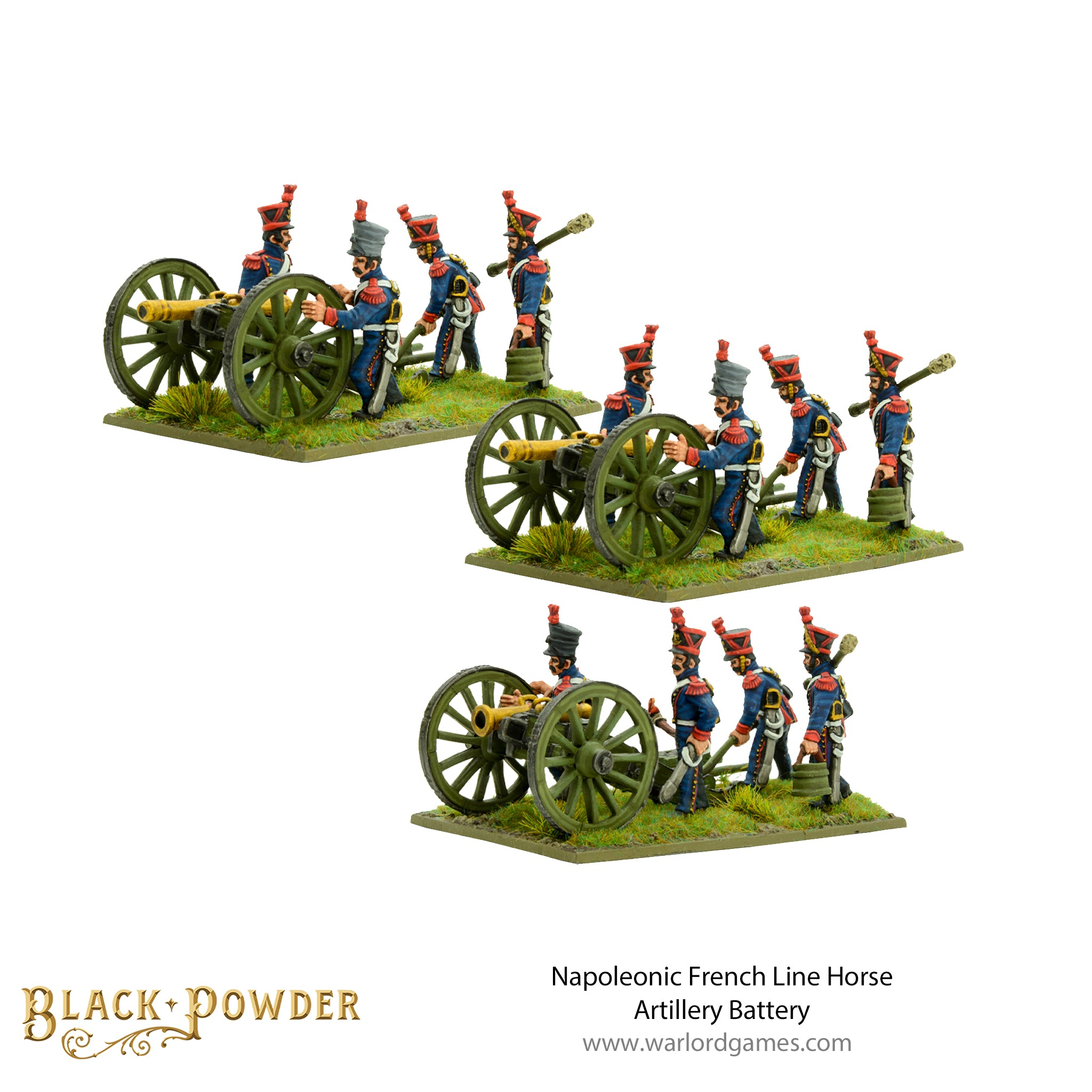 Napoleonic French Line Horse Artillery Battery