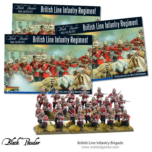 Zulu War: British Line Infantry Brigade
