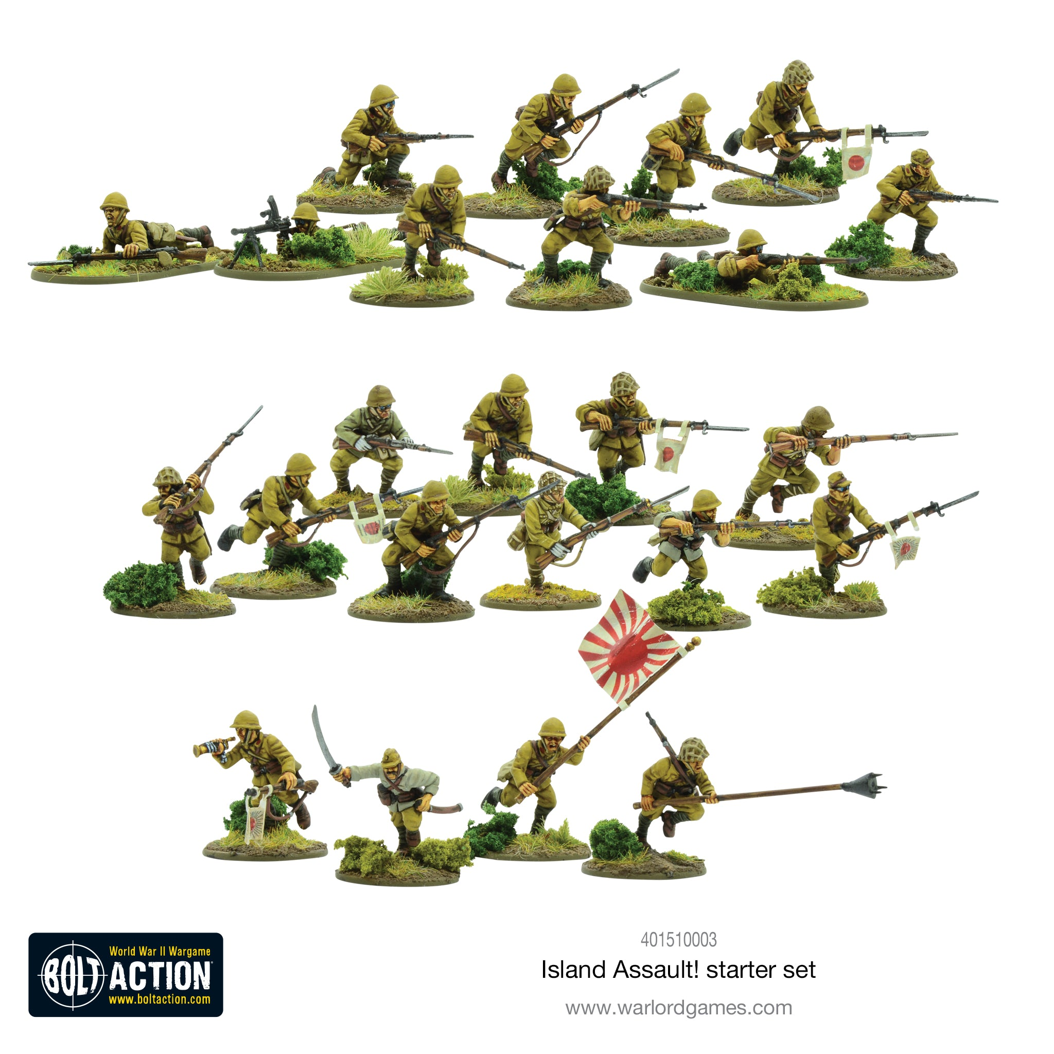 Bolt Action Island Assault! with Pre-Order Special Miniature