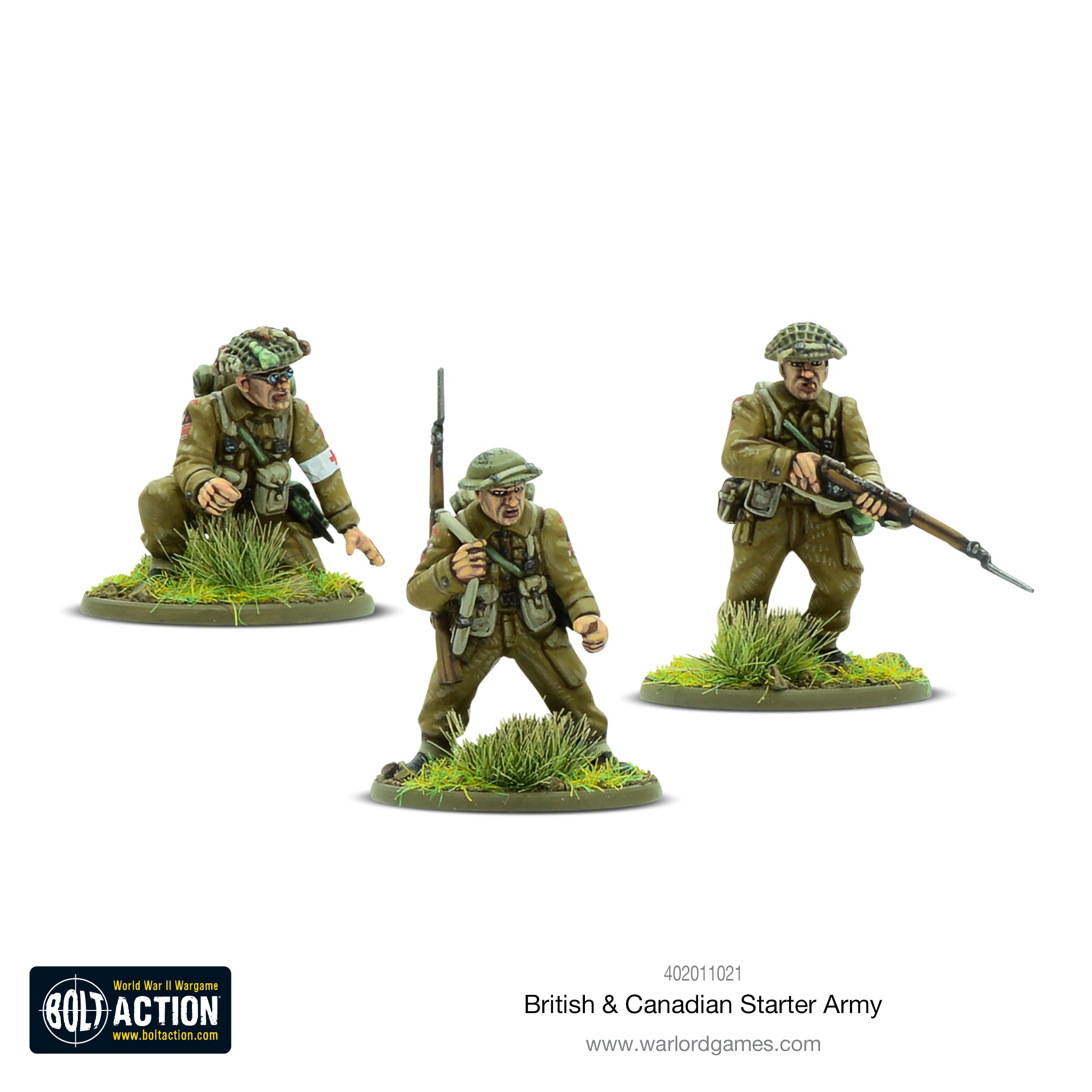 1943-45 Starter Army Warlord Games British & Canadian Army Toys ...