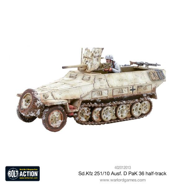 Warlord Games Bolt Action German Sdkfz 251//10 Pak 36