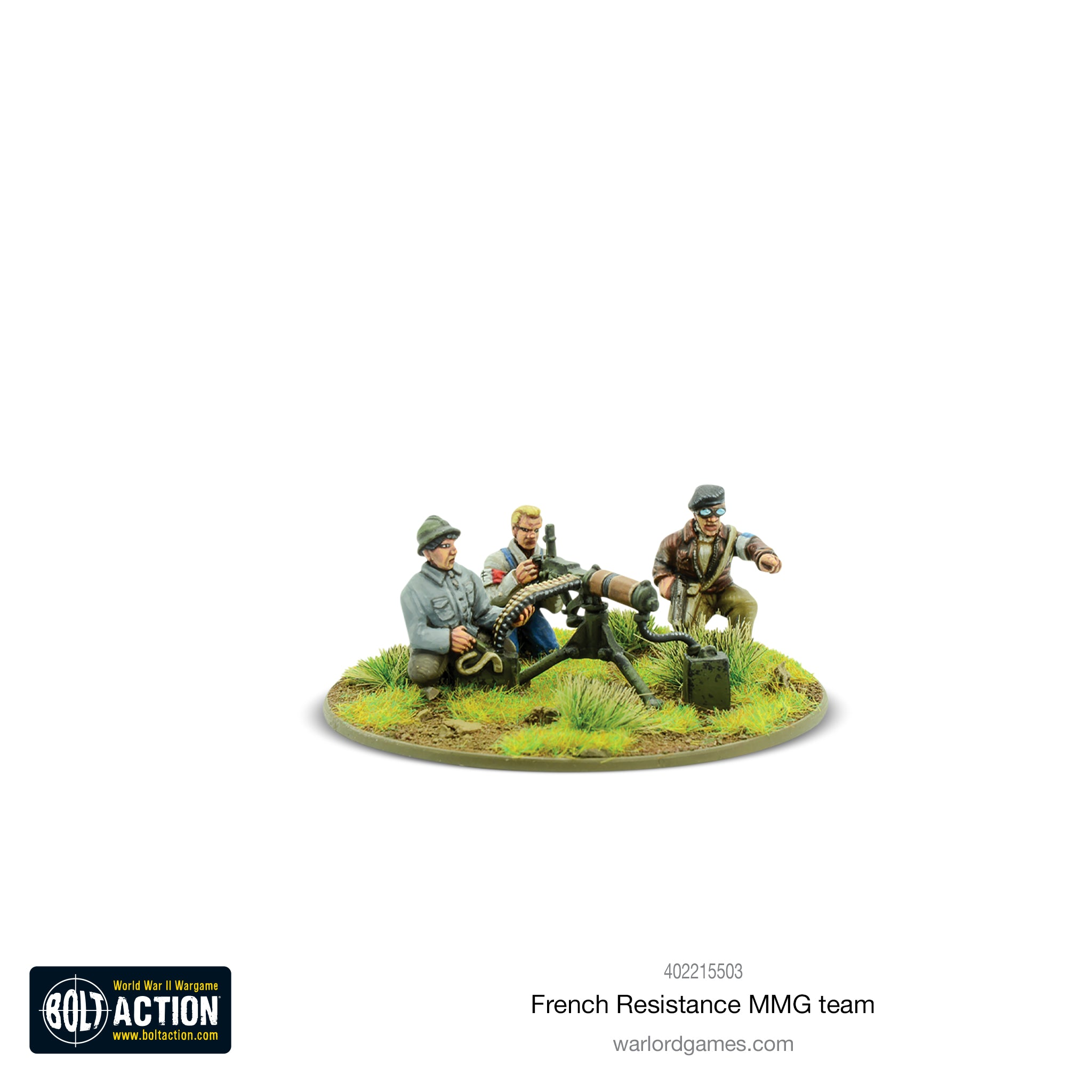 French Resistance MMG team