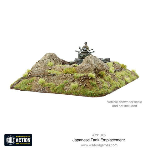Japanese Tank Emplacement