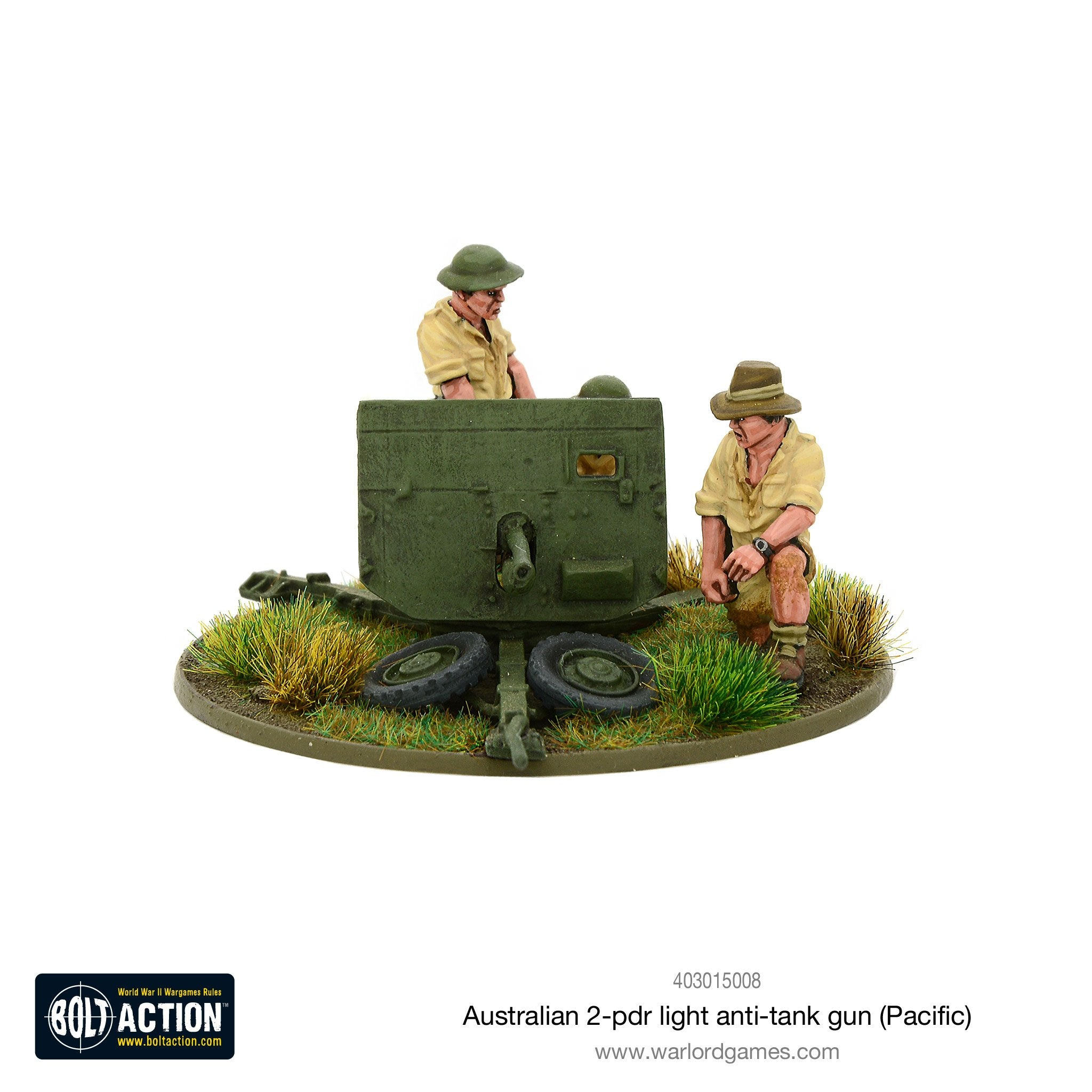 Australian 2-pdr light anti-tank gun (Pacific)