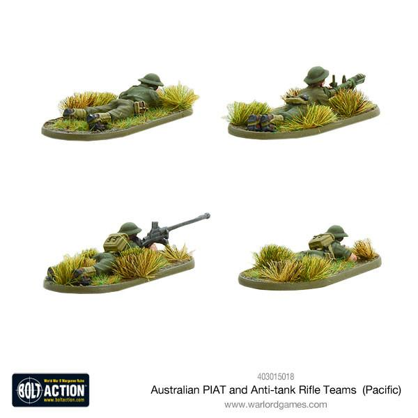 Australian PIAT and anti-tank rifle teams (Pacific)