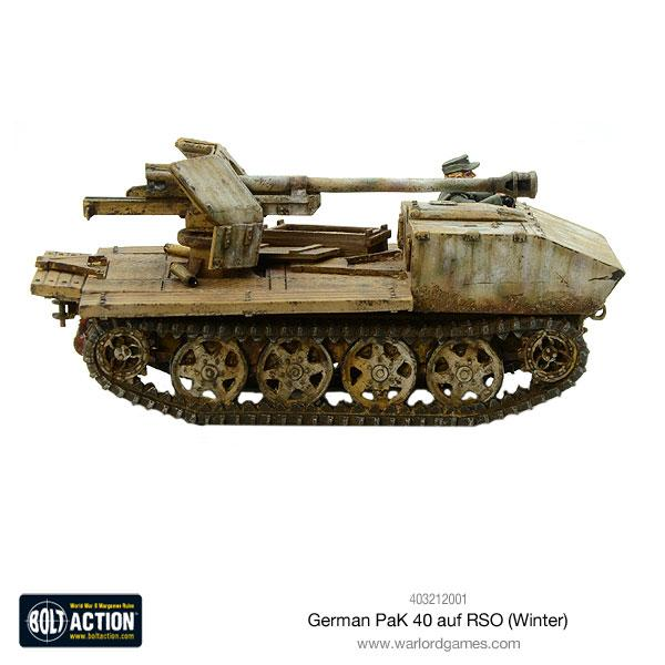 German Pak 40 auf RSO (Winter)