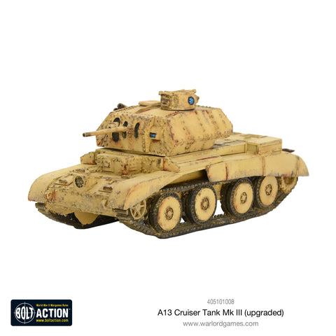 A13 cruiser tank Mk III (upgraded)