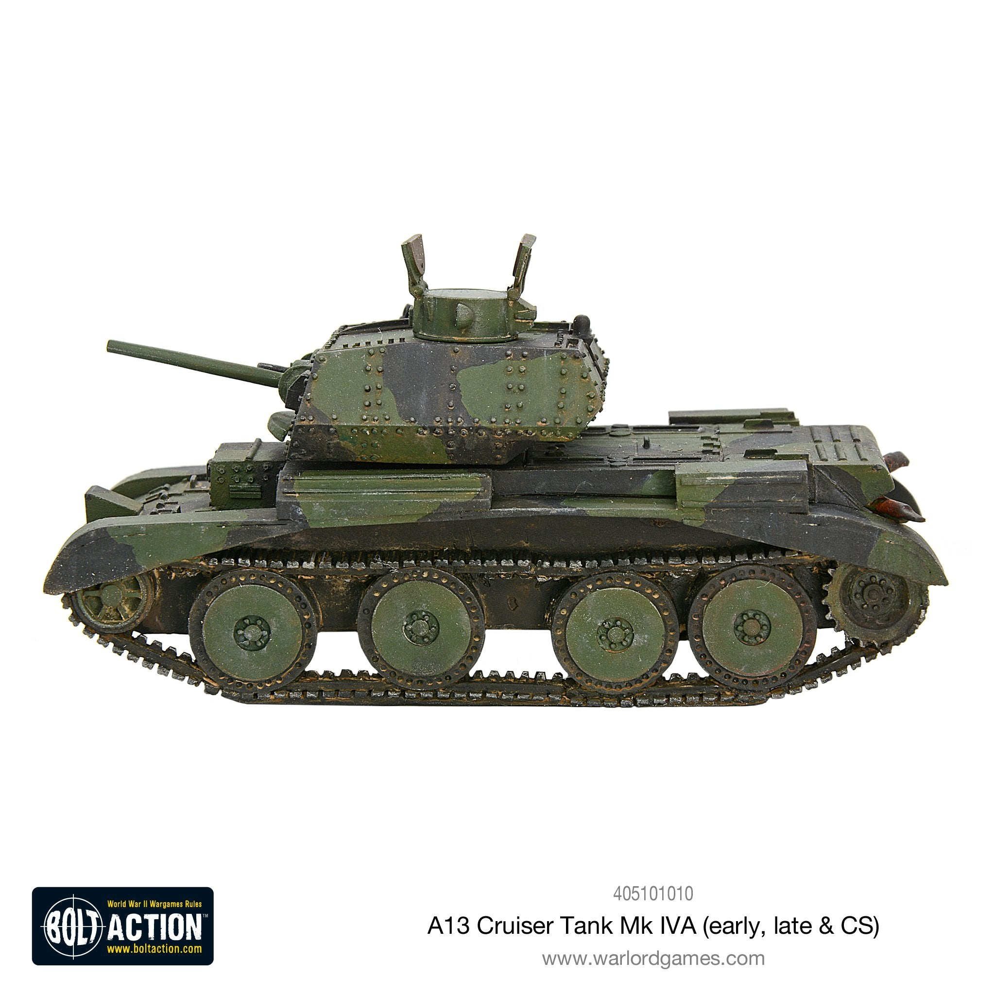 A13 cruiser tank Mk IVA (early, late & CS)