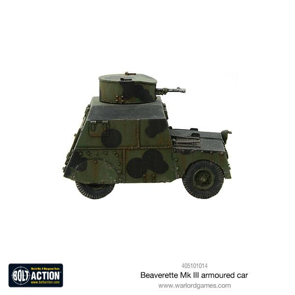 Beaverette MKIII armoured car